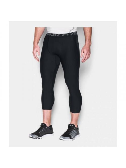 Férfi kompressziós 3/4-es leggings Under Armour HG 2.0 fekete