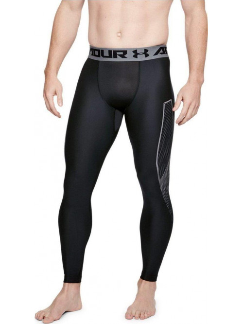Férfi kompressziós leggings Under Armour Graphic fekete