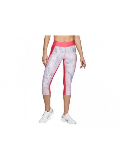 Női kompressziós 3/4-es leggings Under Armour Printed rózsaszín