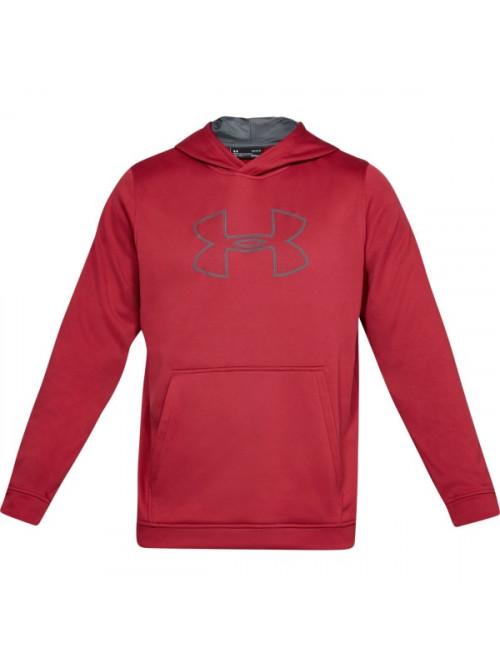 Férfi melegítő felső Under Armour Performance Fleece Graphic Hoody piros