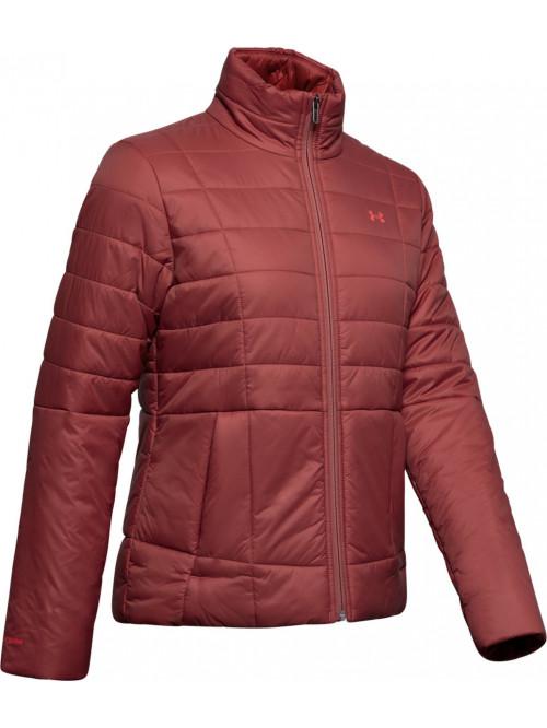 Női kabát Under Armour Insulated Jacket bordó