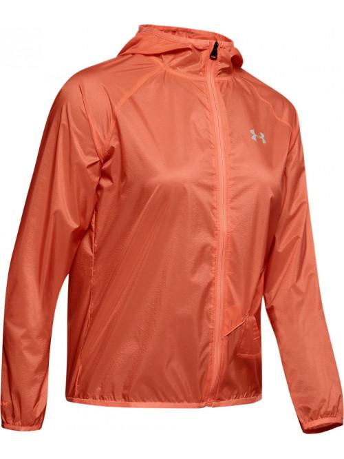 Női kabát Under Armour Qualifier Storm narancssárga