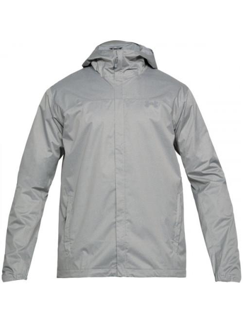 Férfi kabát Under Armour Overlook Jacket szürke