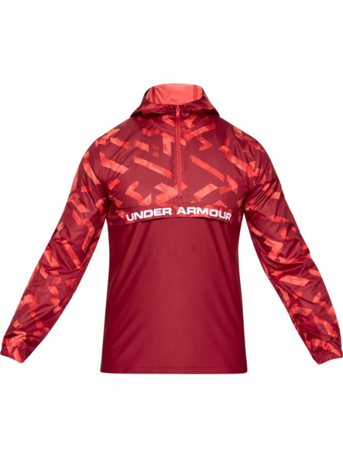 Férfi kabát Under Armour Sportstyle Woven Layer piros