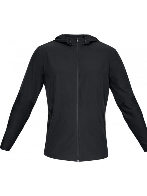 Férfi kabát Under Armour Threadborne Vanish Hybrid fekete