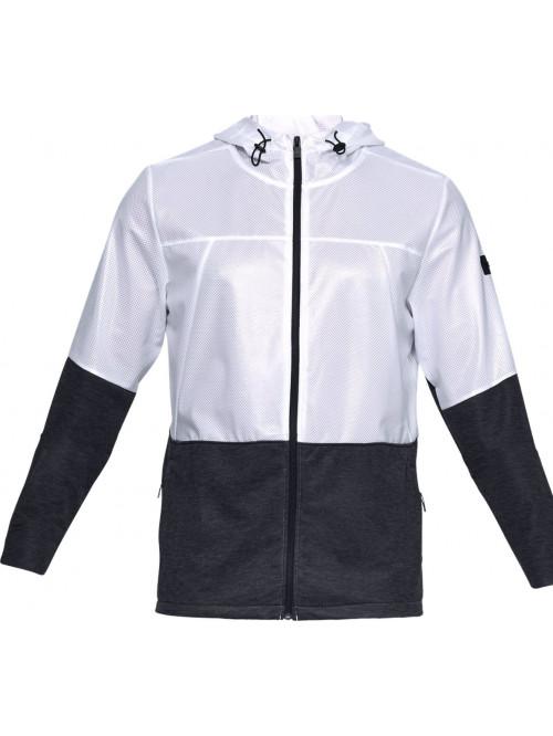 Férfi kabát Under Armour Ustoppable Swacket fekete-fehér