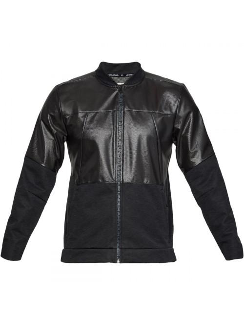 Férfi kabát Under Armour Unstoppable Swacket Bomber Jacket fekete