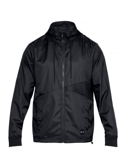 Férfi kabát Under Armour Unstoppable Windbreaker fekete