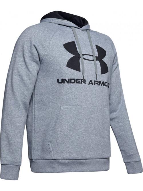 Férfi melegítő felső Under Armour Rival Fleece Big Logo szürke