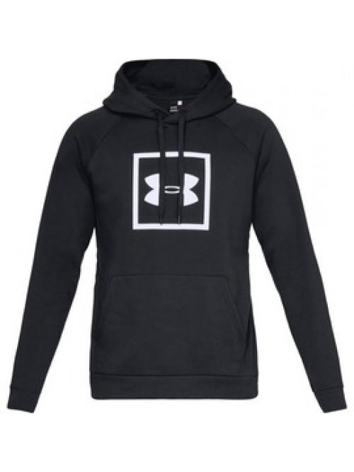 Férfi melegítő felső Under Armour Rival Fleece Logo Hoodie-BLK fekete