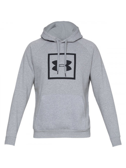 Férfi melegítő felső Under Armour Rival Fleece Logo Hoodie-GRY Steel Light Heather szürke