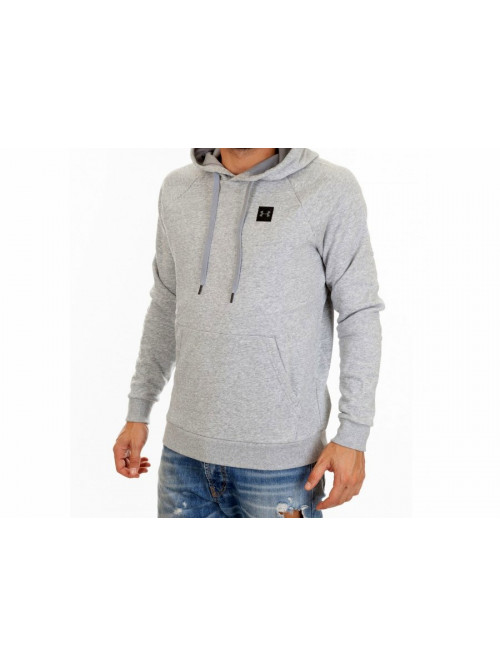 Férfi melegítő felső Under Armour Rival Fleece Po Hoodie-GRY Steel Light Heather szürke