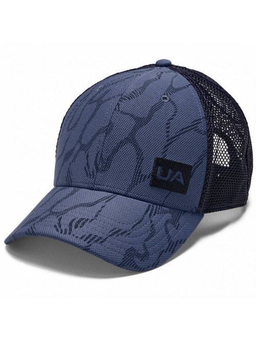 Baseball sapka Under Armour Blitzing Trucker 3.0 kékesszürke