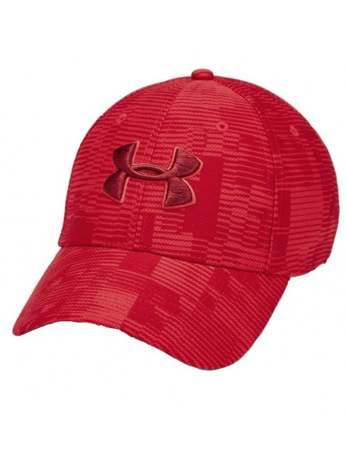 Baseball sapka Under Armour Printed Blitzing piros