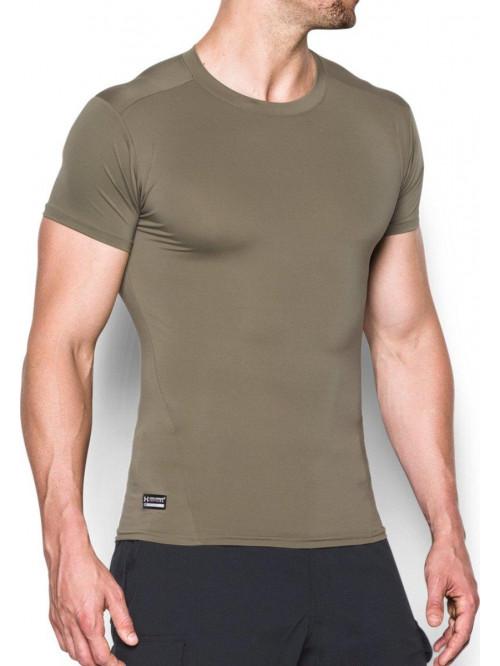 Féfri kompressziós póló Under Armour taktikus zöld