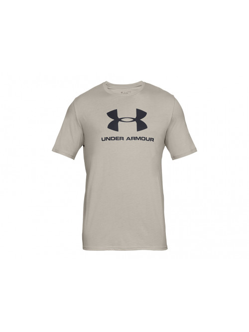 Póló Under Armour Sportstyle Logo bézs