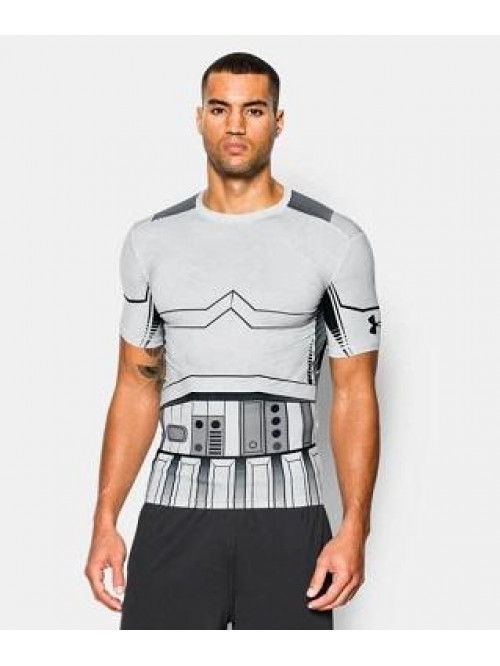 Kompressziós póló Under Armour Trooper fehér