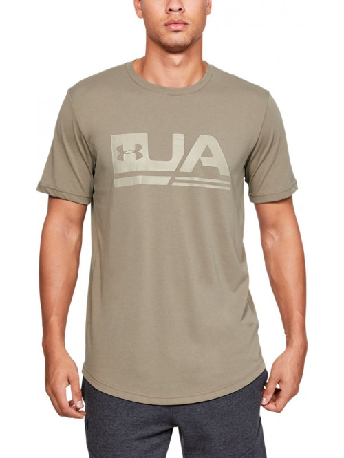 Póló Under Armour Sportstyle Drop Hem bézs