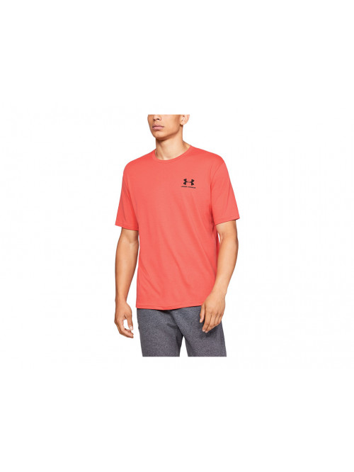 Póló Under Armour Sportstyle Left Chest lazac színű