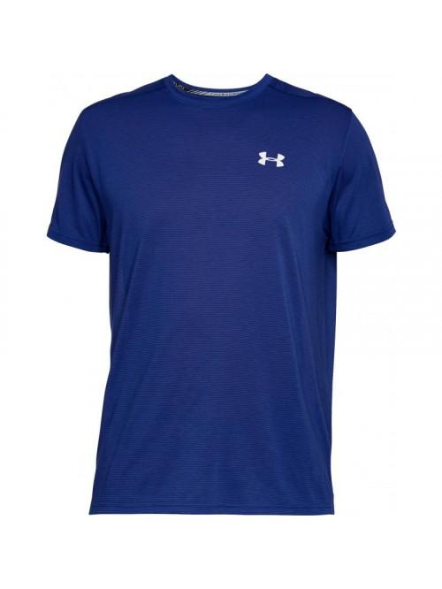 Póló Under Armour Threadborne Run sötétkék