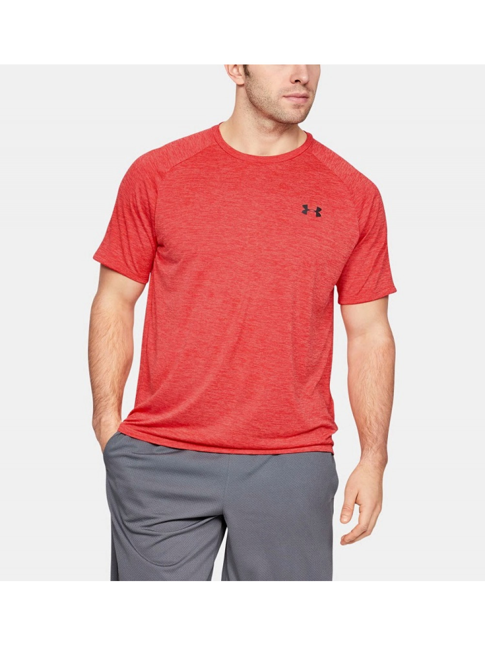 Tričko Under Armour TECH SS TEE piros
