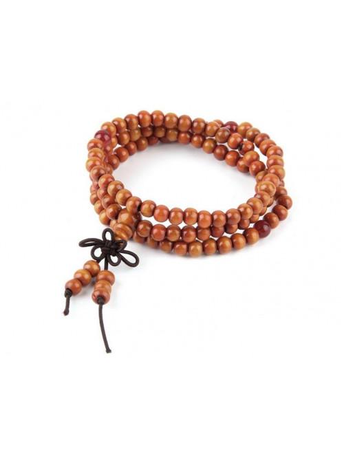 Karkötő Siddharta pirosos-barna
