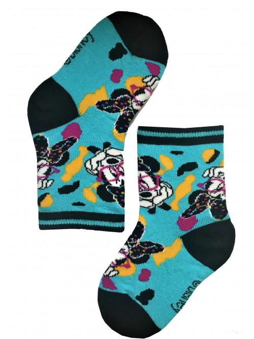 Gyerek Gatta Minnie Mouse kék zoknik