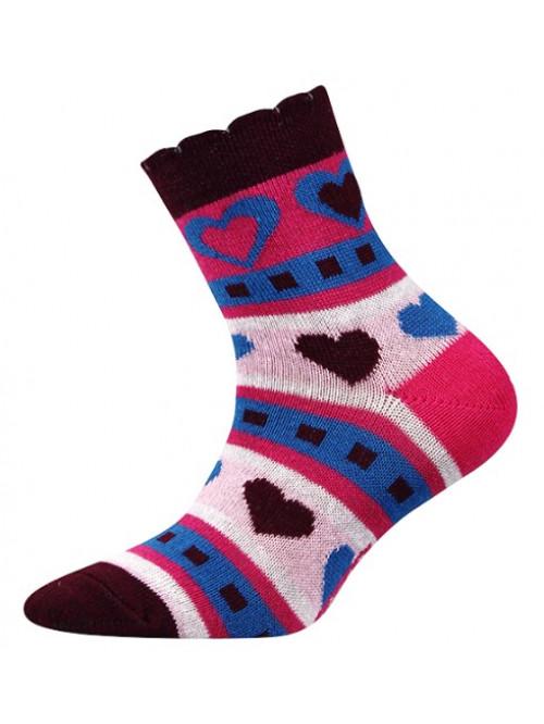 Gyerek Boma Larik zoknik szívekkel