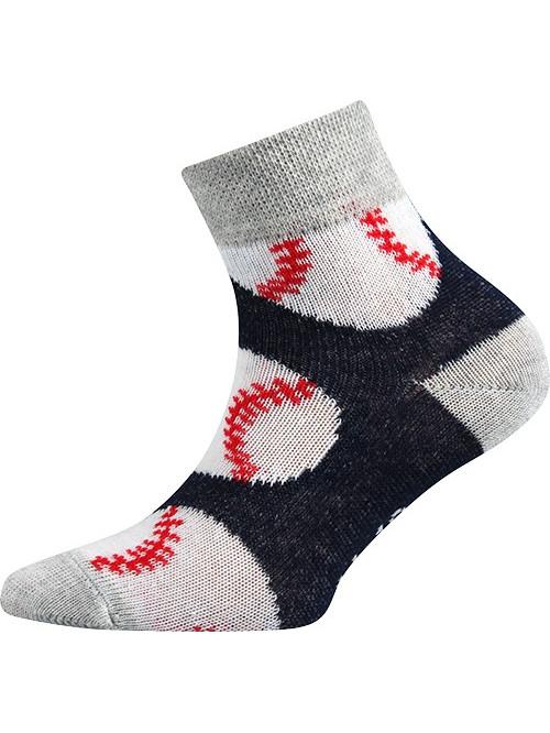Gyerek Boma Baseball zoknik