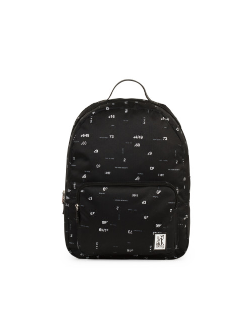 Hátizsák TPS Classic Backpack - Black Numbers All-over