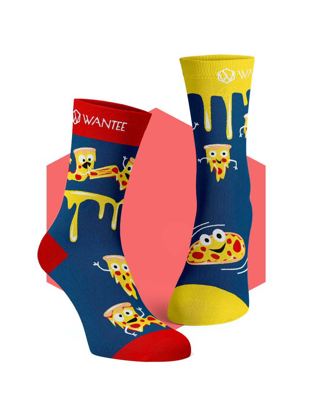 Wantee Crazy Pizza zokni