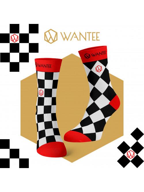 Zokni Az élet sakktáblája Wantee