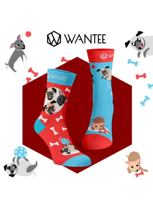 Wantee Játékos kutyusok zokni
