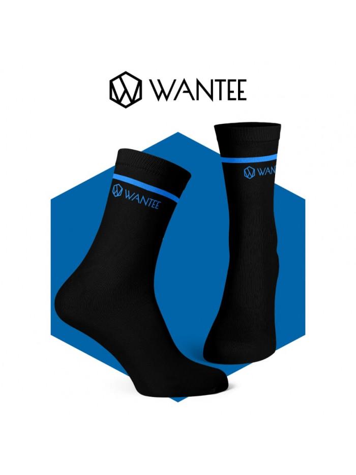 Wantee zokni Basic Black and Blue
