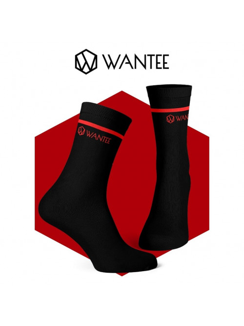 Wantee Zokni Basic Black and Red