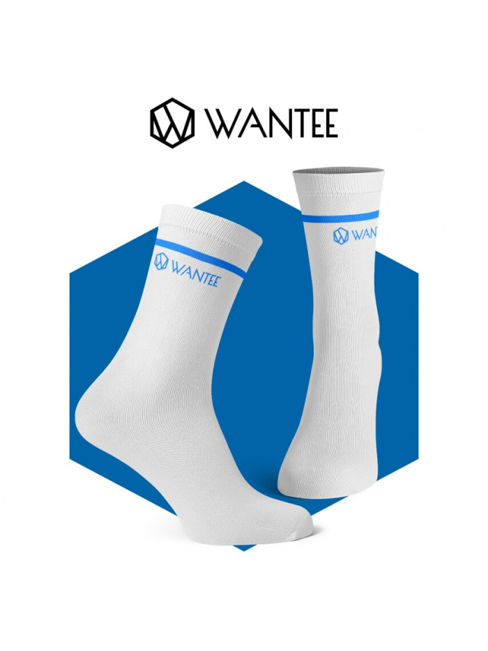 Wantee Basic zokni White and Blue