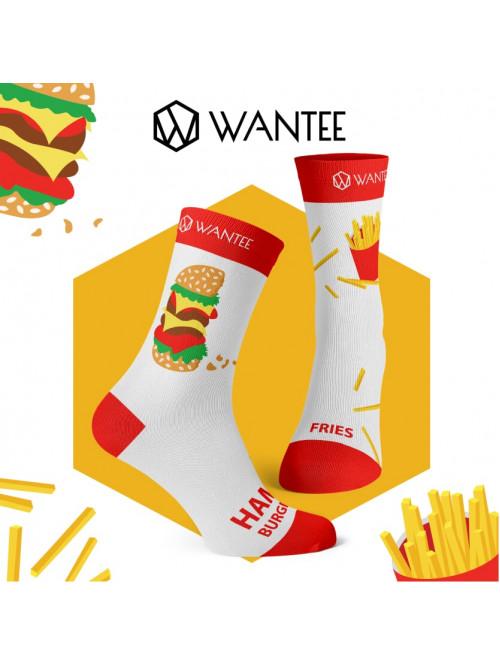 Zokni Hamburger és Sült krumpli Wantee