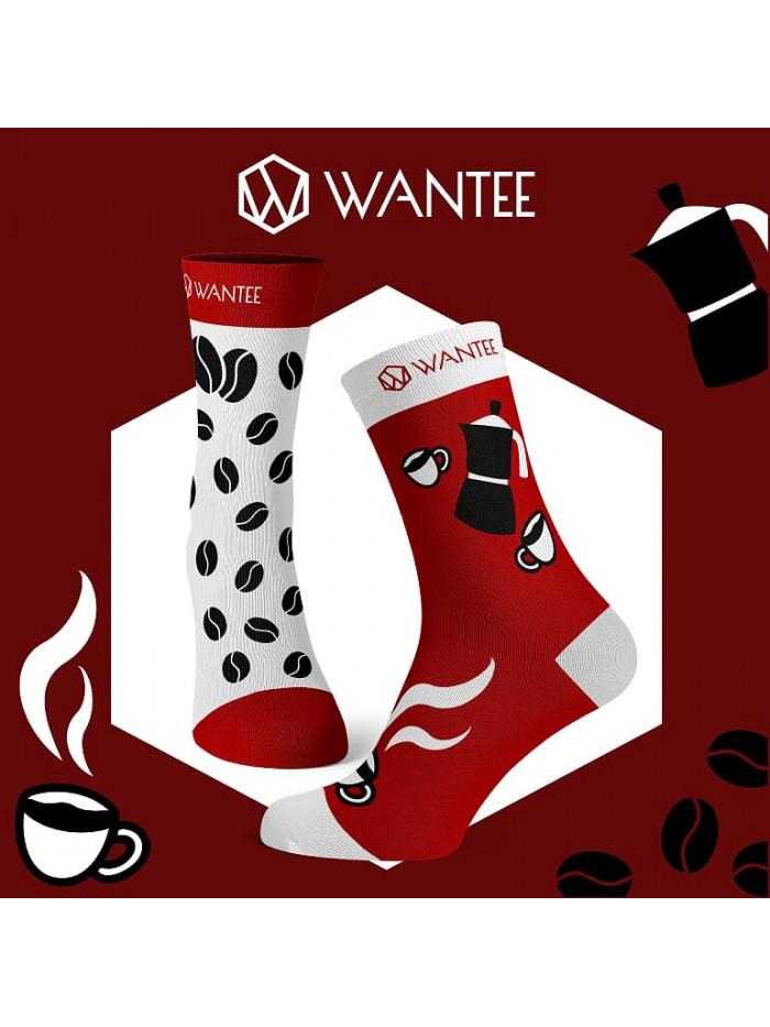 Zokni Kávé Wantee