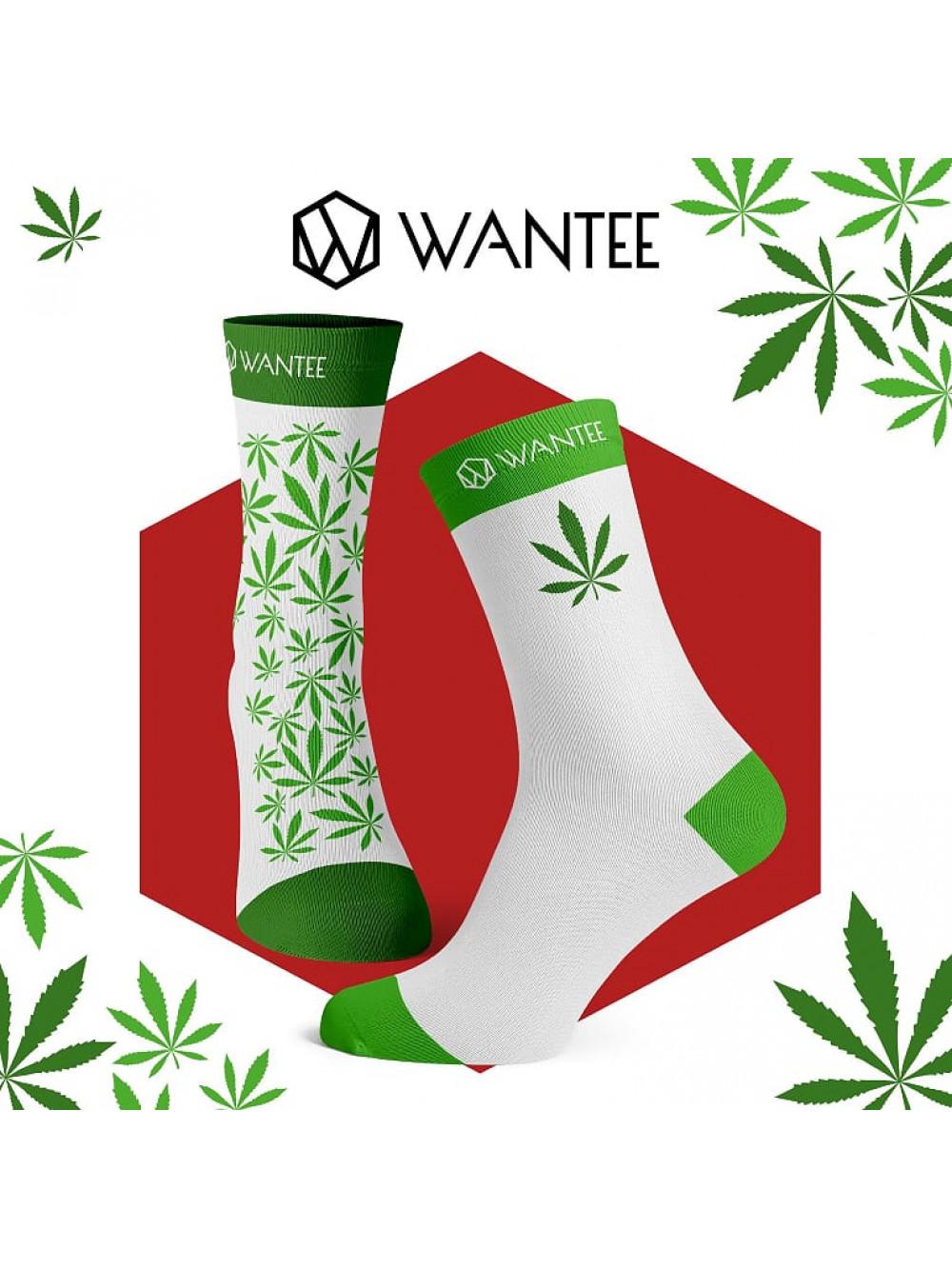 Marihuána zokni Wantee