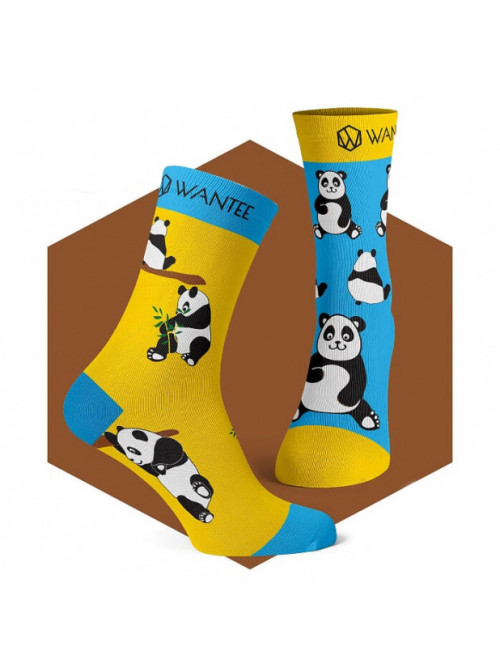 Zoknik Wantee Panda Socks